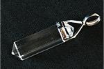 水晶 ダブルポイント ペンダントトップ〜クオーツの輝き