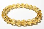 シトリンAAA8mm数珠ブレスレット〜太陽のめぐみ