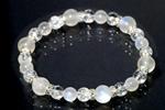 ブルームーンストーンAAA8mm数珠ブレスレット〜月光の輪の中で