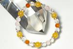 オレンジカルサイトAAA8mmブレス〜陽光の恵みとエネルギー