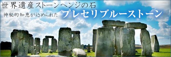世界遺産ストーンヘンジの石 プレセリブルーストーン