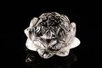 蓮の花水晶 手彫り天然クリスタル