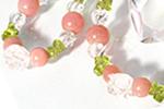 花園のキューピット 〜ピンクオパール