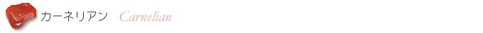カーネリアンのシンプル・パワー系ブレスレット